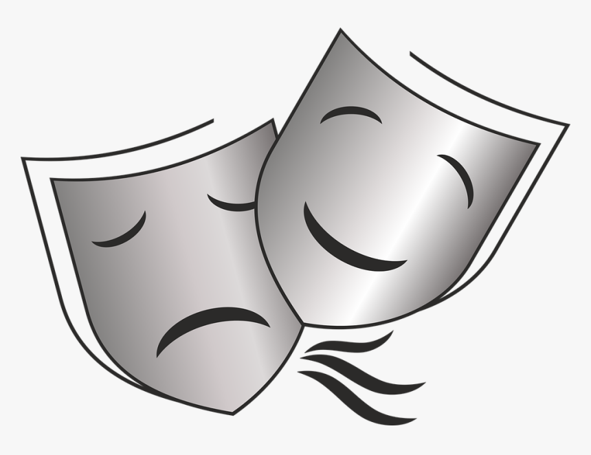 Masks, Theater, Stage, Acting, Opera, Operetta - Mascaras De Teatro Png, Transparent Png, Free Download