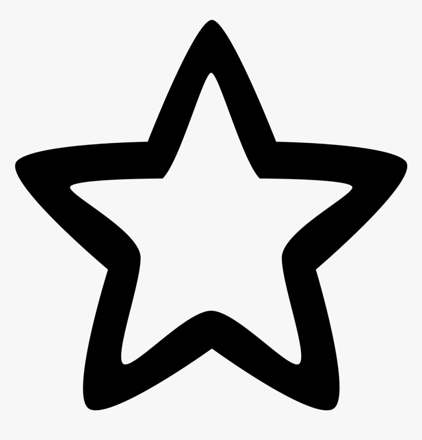 Resume Management Png - Star Icon With Border, Transparent Png, Free Download