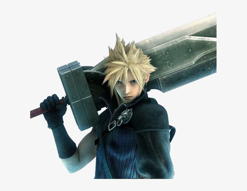 Movie Cloud Strife Final Fantasy Vii Advent Children Hd Png