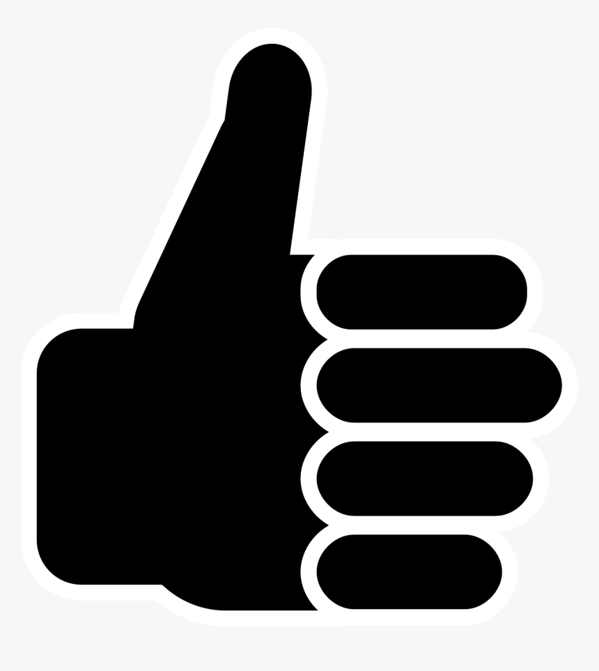 Symbol Thumbs Up Clip Art Vector Free Clipart - Royalty Free Thumbs Up, HD Png Download, Free Download
