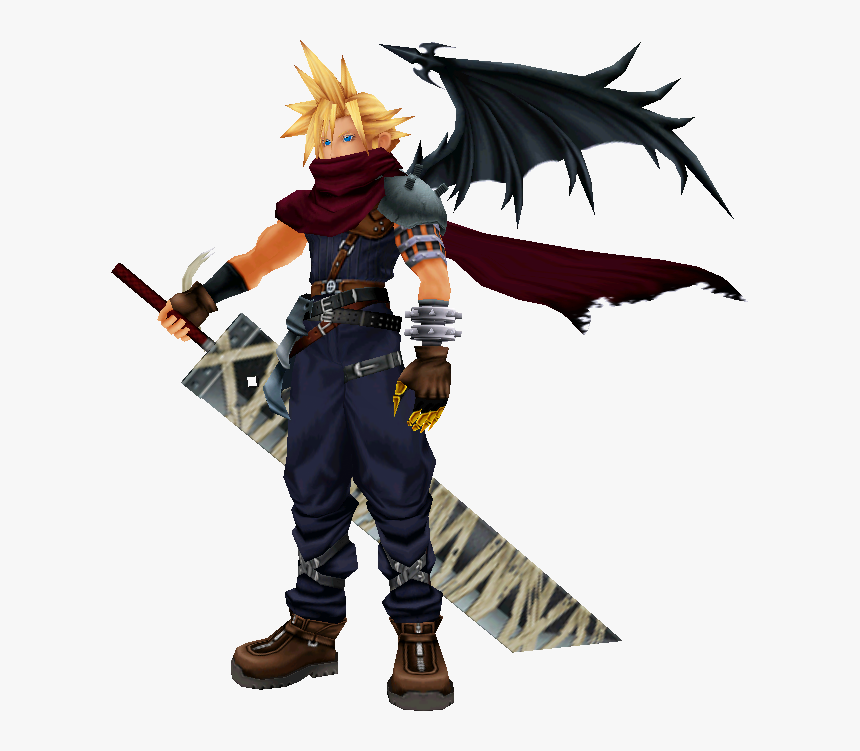 Kh Cloud Seems Empty Now A Forum Thread For Super Smash - Super Smash Bros Ultimate Cloud, HD Png Download, Free Download