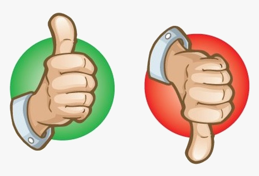 Thumbs Up The Are Back Upthumbs Down October Transparent - Thumbs Up And Down Png, Png Download, Free Download