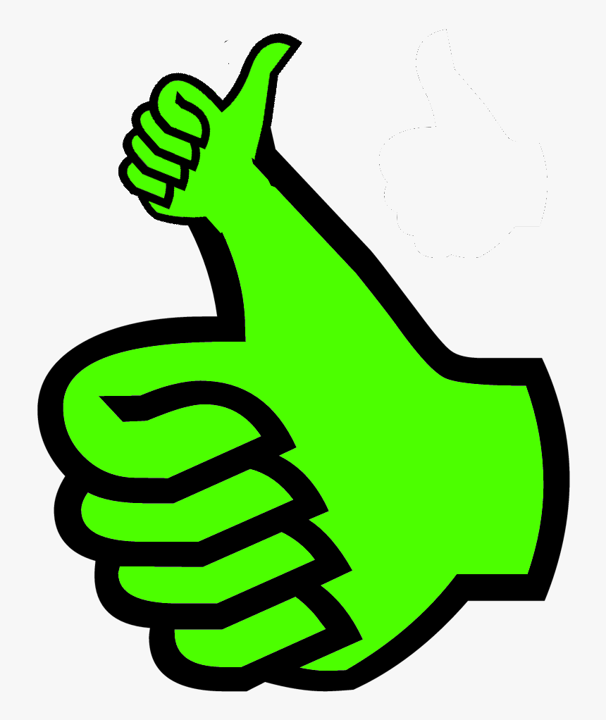 Transparent Thumbs Down Clipart Black And White - Thumbs Up Png Gif, Png Download, Free Download
