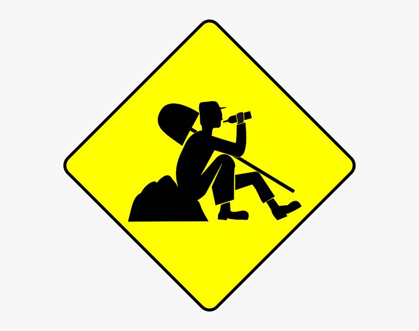 Men At Work Sign, HD Png Download, Free Download
