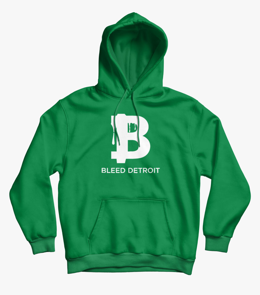 Green & White Hoodie - Freedom Hoodie Canaian, HD Png Download, Free Download