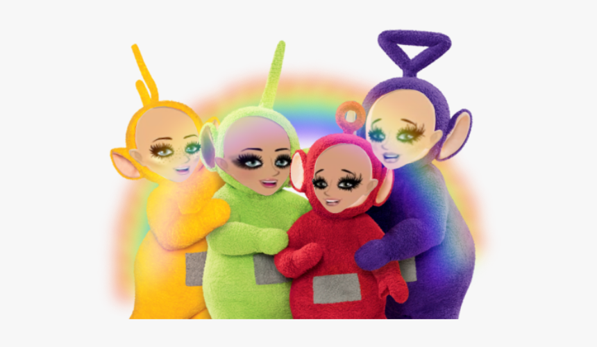 #teletubbies ♥️☺️ #msp #freetoedit - Teletubbies Aesthetic, HD Png Download, Free Download