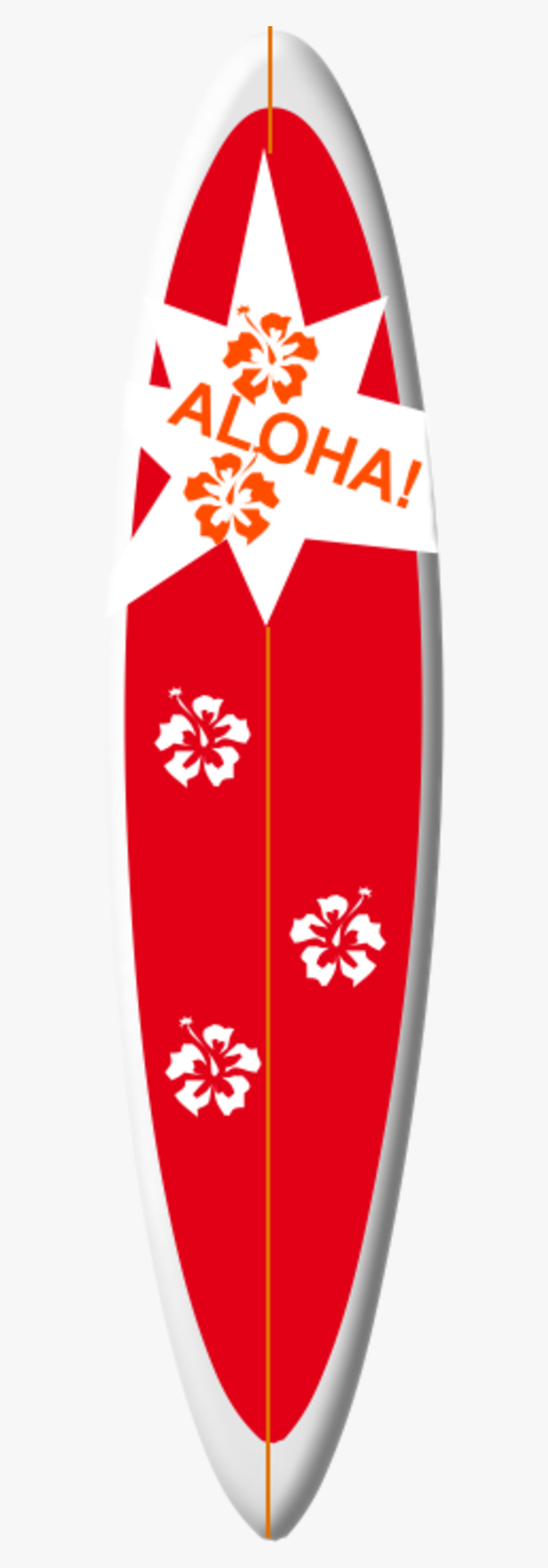 Planche De Surf Hawaii Dessin Hd Png Download Kindpng