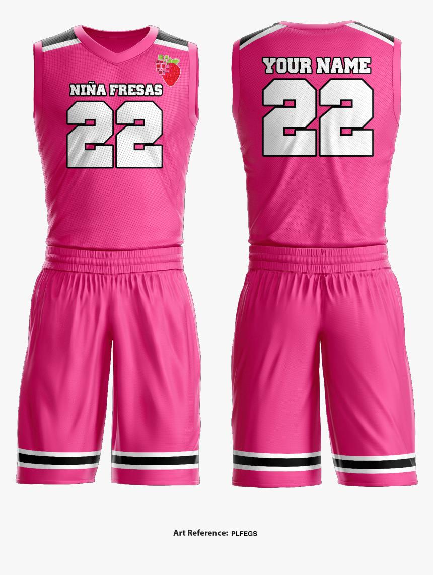 Niña Fresas Basketball Uniform, HD Png Download, Free Download