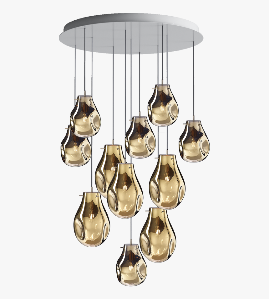 Soap Chandelier / 11 Pcs Gold - Bomma Soap, HD Png Download, Free Download