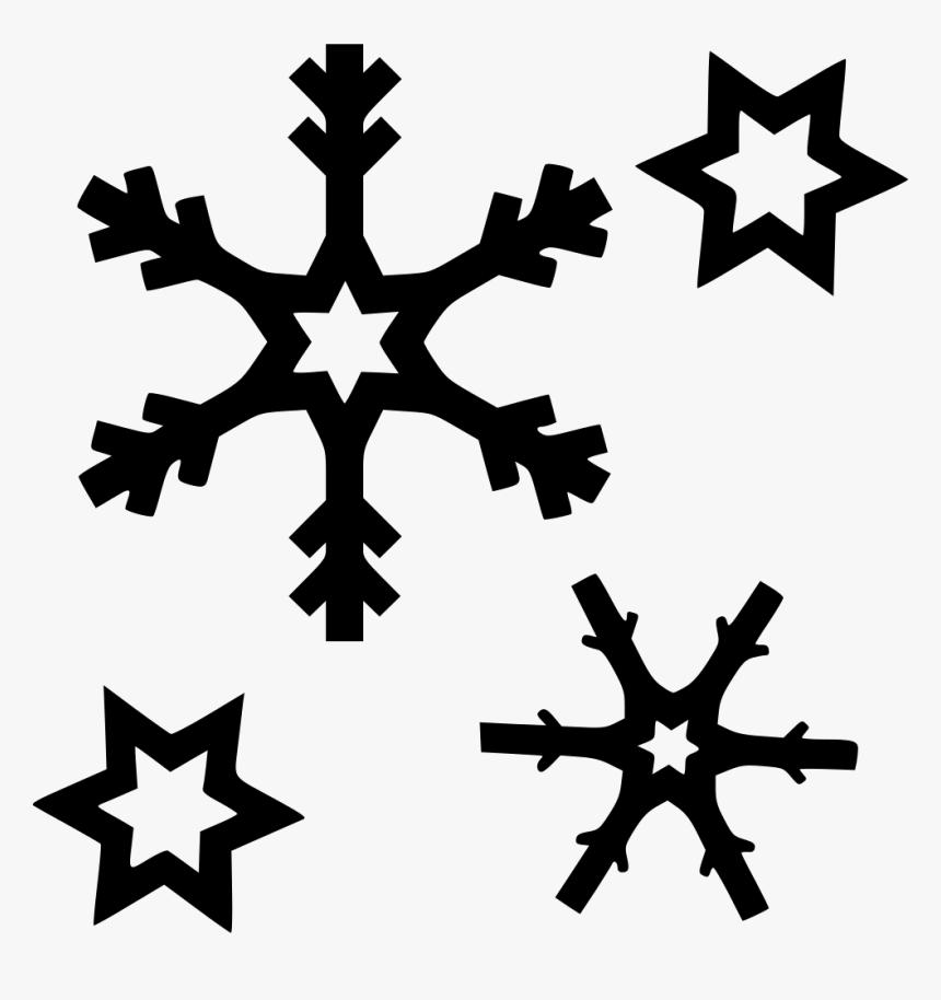 Snowflakes - Símbolos Da Previsão Do Tempo, HD Png Download, Free Download