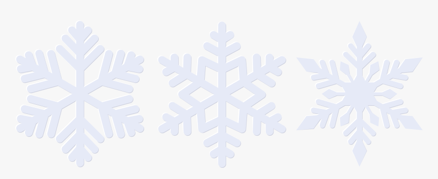 Snowflakes Clipart High Resolution - Illustration, HD Png Download, Free Download