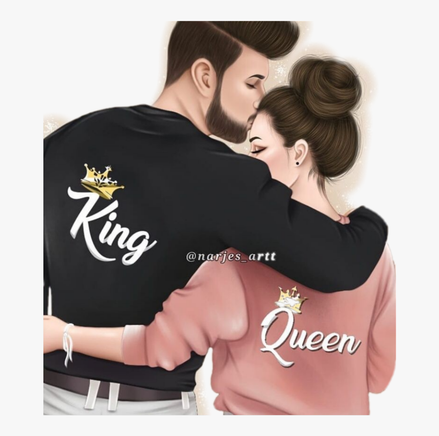 Narjes Artt Instagram - Love Couples Girly M, HD Png Download, Free Download