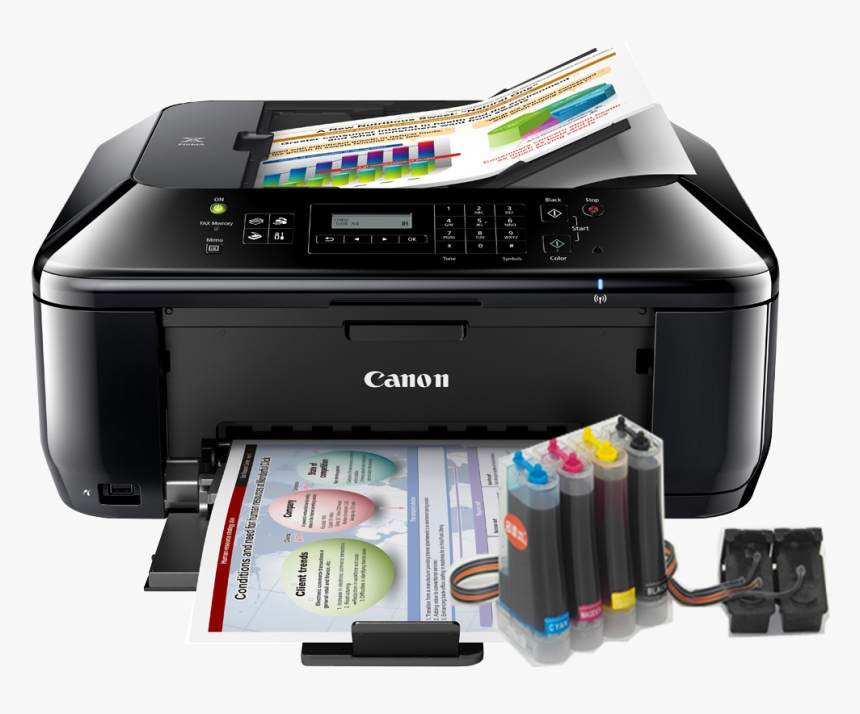 Printer,inkjet Printing,output Device,printing,office - Canon Pixma Mx432, HD Png Download, Free Download