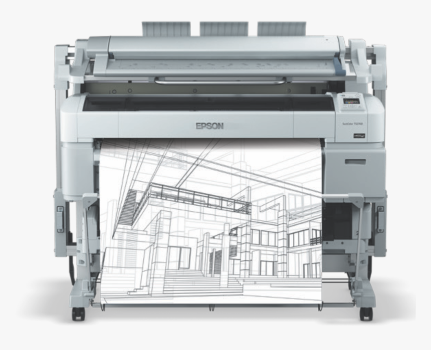 Epson Sc T5200 Mfp, HD Png Download, Free Download