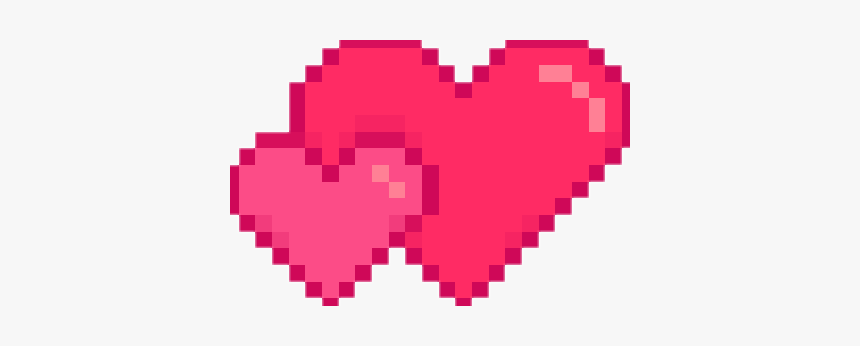 #heart #hearts #pixelated #pixelart #freetouse - Pixel Heart Transparent Background, HD Png Download, Free Download