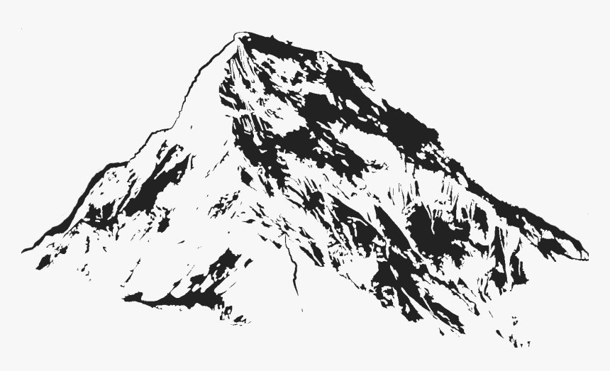 Mountain Drawing Transparent , Png Download - Mountain Transparent Drawing, Png Download, Free Download