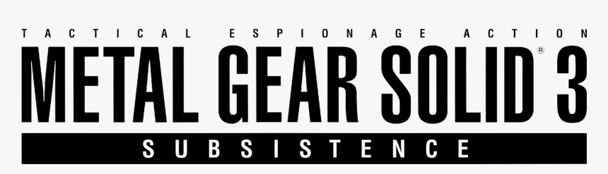 Thumb Image - Metal Gear Solid 3 Logo, HD Png Download, Free Download