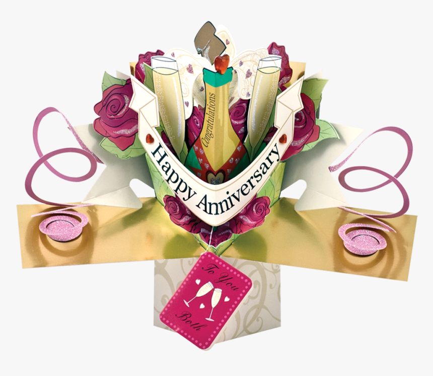 Champagne Pop Png - Greeting Card, Transparent Png, Free Download
