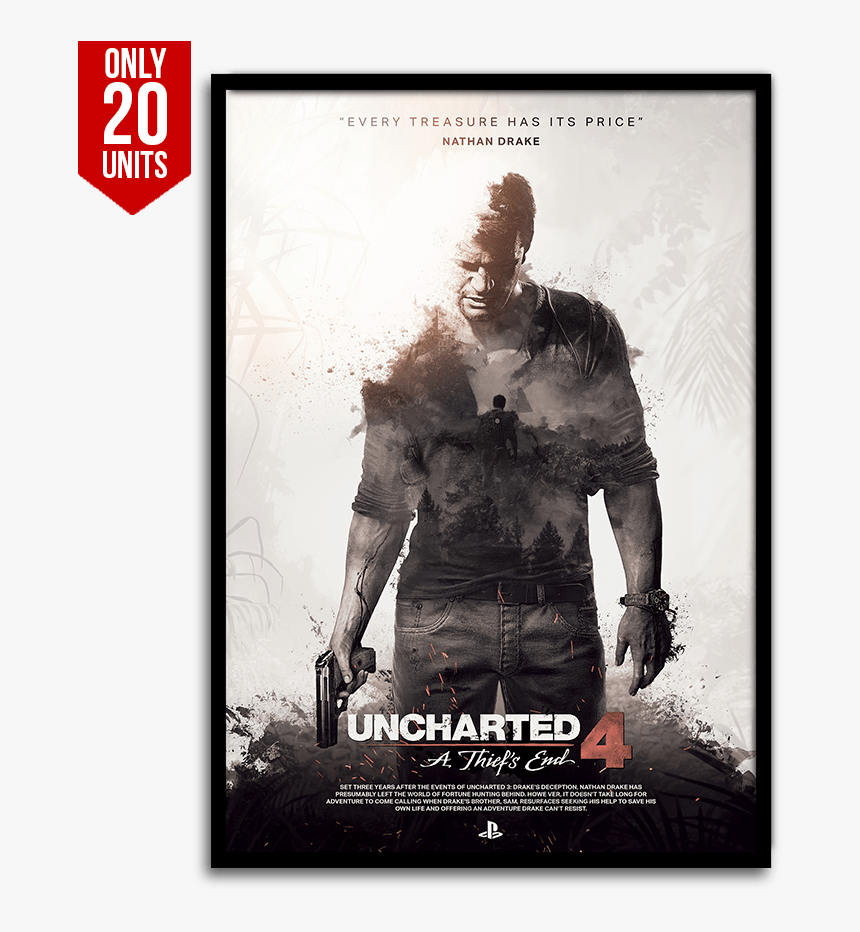 Uncharted 4 Poster Uncharted 4 Iphone Wallpaper Hd Hd Png