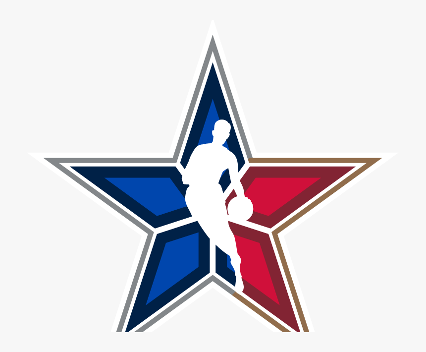 Nba All Star Logos , Png Download - Nba All Star Star, Transparent Png, Free Download