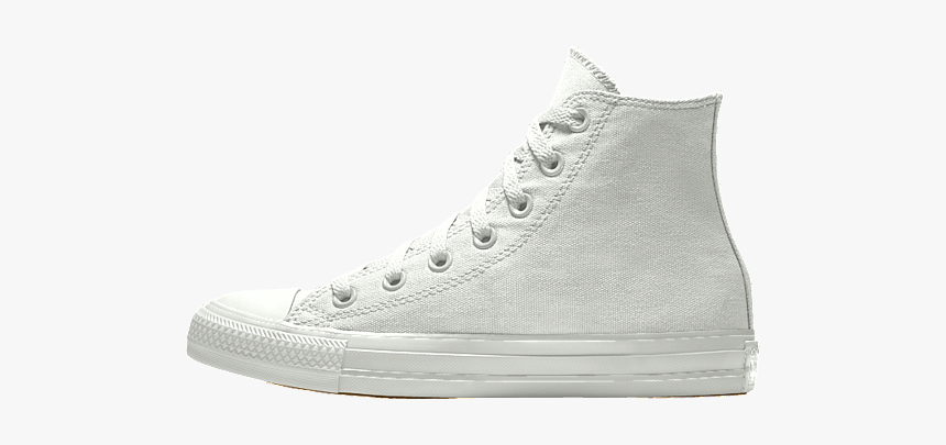 Converse Chuck Taylor Png - High Top White Converse, Transparent Png, Free Download