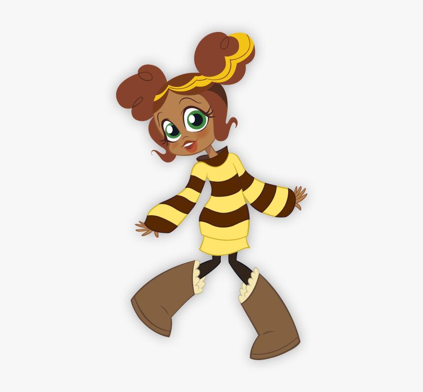 Dc Super Hero Girls Bumblebee, HD Png Download, Free Download
