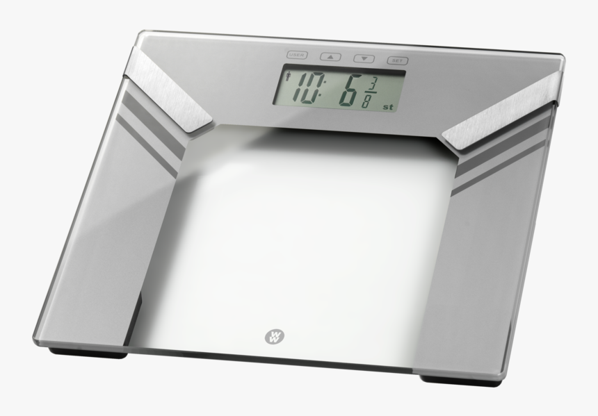 Weight Watchers Ultra Slim Analyser Scale - Digital Clock, HD Png Download, Free Download