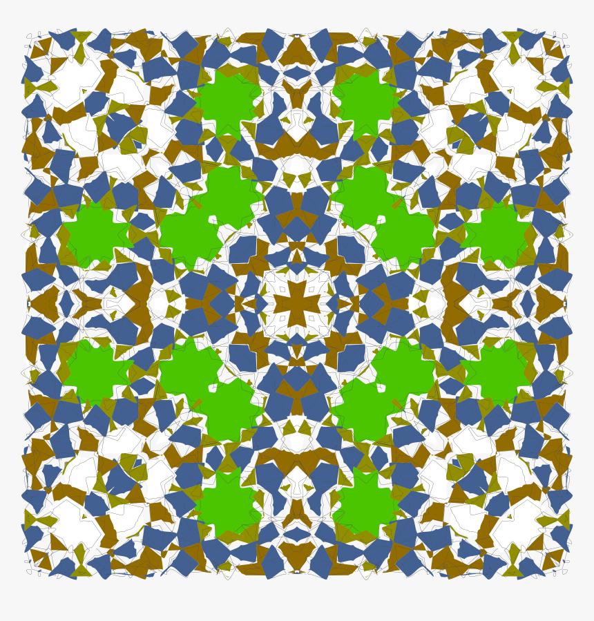 Islamic Geometric Tile 6 Clip Arts - Big Design Islamic, HD Png Download, Free Download