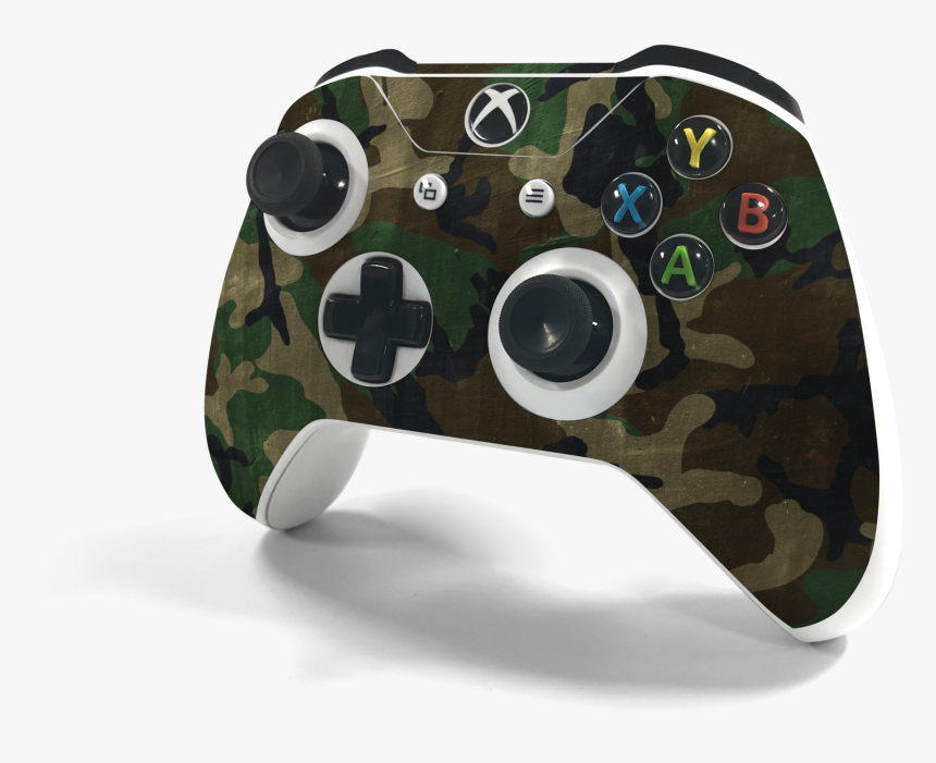 "Xbox One S Controller Woodland Camo Decal Kit""  Class=""lazyload - New Xbox One Controller Camo, HD Png Download, Free Download"