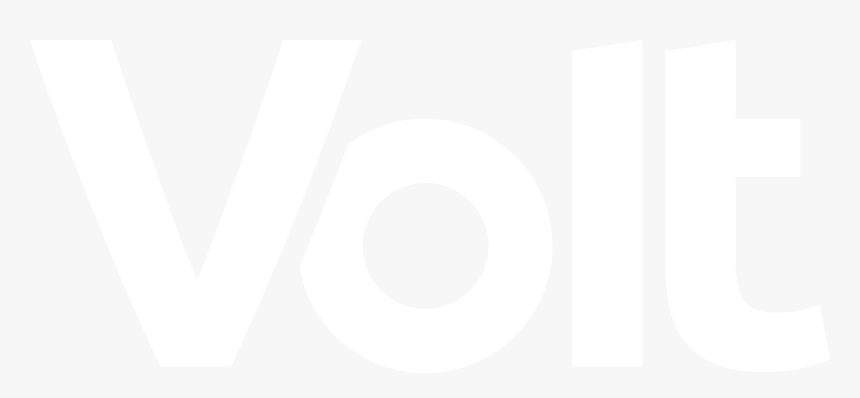 Volt White Logo - Volt Italia Logo, HD Png Download, Free Download