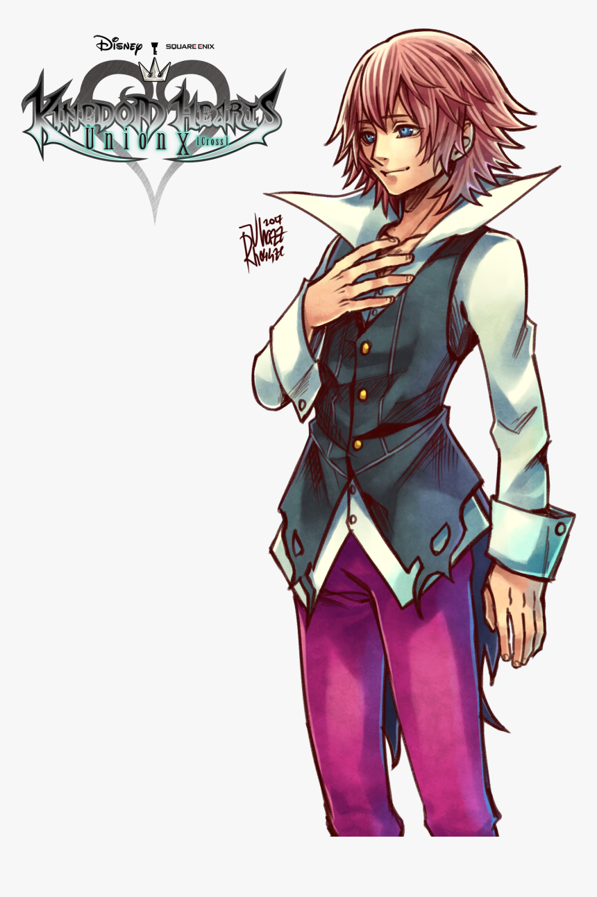 Kingdom Hearts Unchained X Marluxia, HD Png Download, Free Download