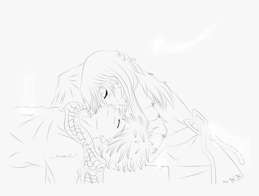 Anime Lineart Png - Line Art, Transparent Png, Free Download