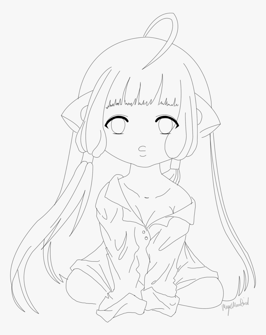 Snapchat Lineart Transparent - Line Art, HD Png Download, Free Download