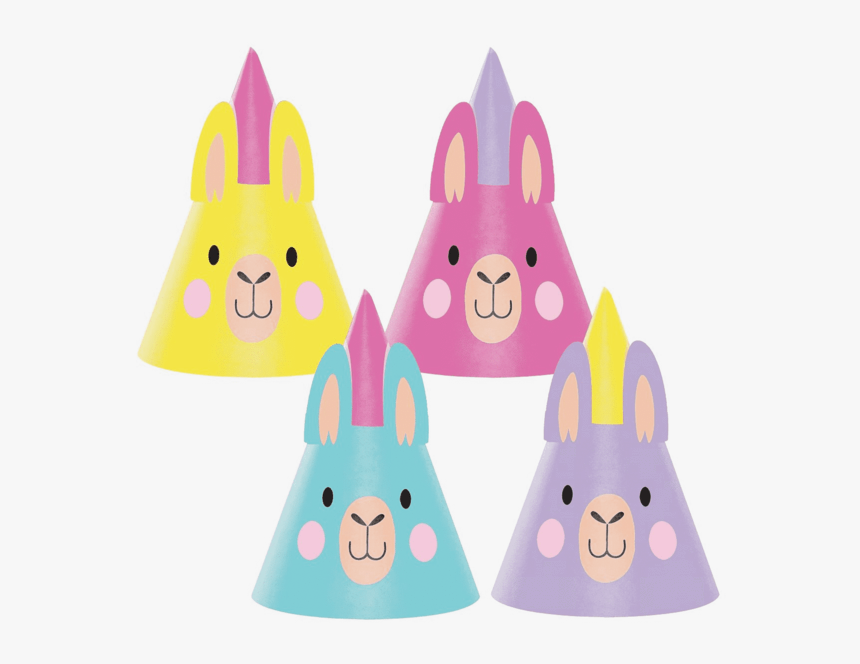 No Drama Llama Party Hats - Καπελακια Παρτυ Λαμα, HD Png Download, Free Download