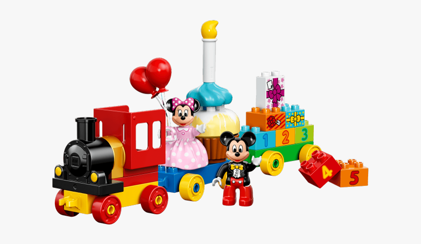 Mickey Birthday Train Duplo Instructions, HD Png Download, Free Download