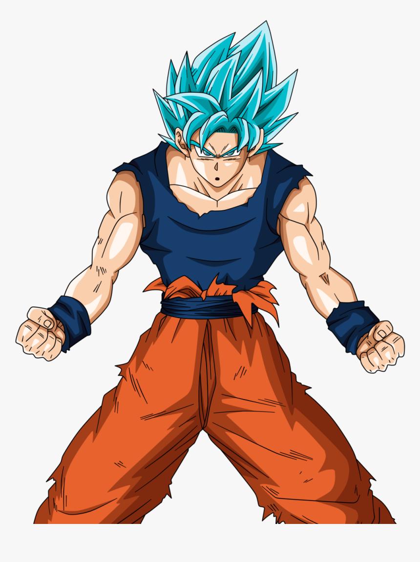 Dragon Ball Super Episode - Goku Ssj Blue Full Power Png, Transparent Png, Free Download