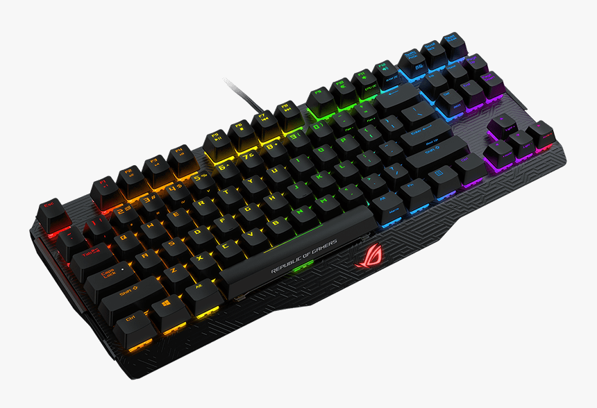 Asus Rog Claymore Core Mx Red, HD Png Download, Free Download