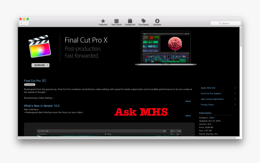 Final Cut Pro, HD Png Download, Free Download