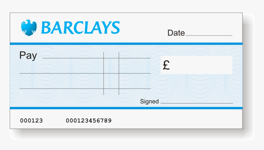 Halifax Jumbo Cheque - Barclays Bank, HD Png Download, Free Download