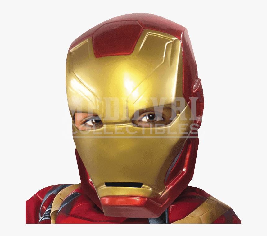 Transparent Superhero Mask Png - Traje De Iron Man, Png Download, Free Download