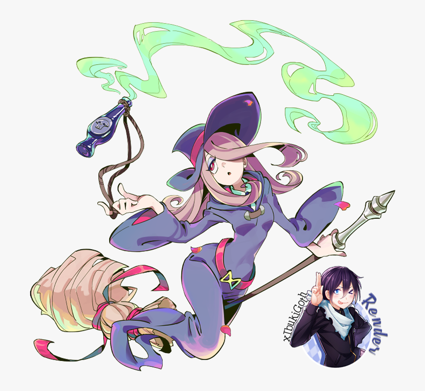 Little Witch Academia Drawings Anime, HD Png Download, Free Download