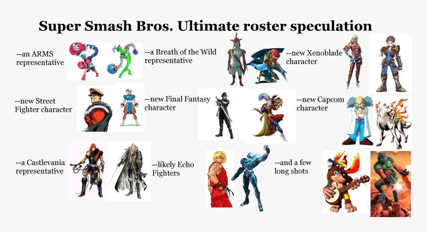 Super Smash Bros - Super Smash Bros Ultimate Final Fantasy, HD Png Download, Free Download