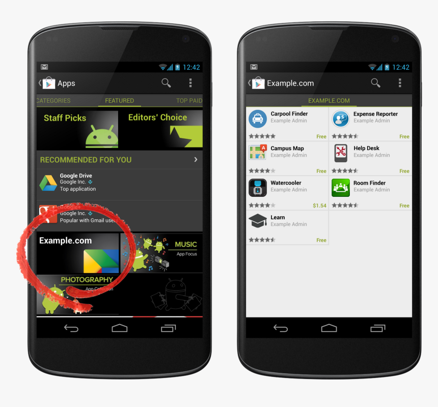 Android Private App, HD Png Download, Free Download
