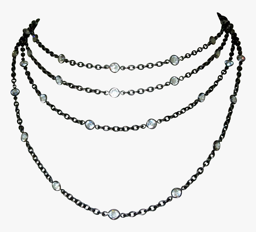 Jewellery Drawing Victorian Jewelry - Gold Chain Png Download, Transparent Png, Free Download