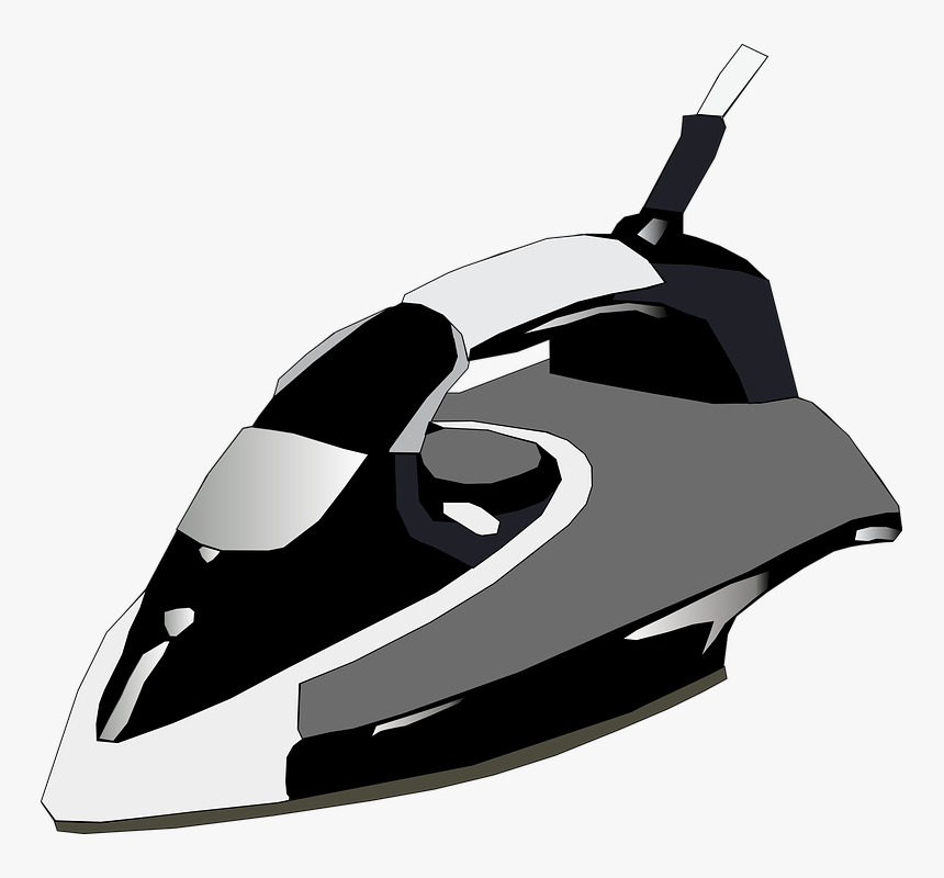 Iron, Household, Clothing, Electric, Laundry, Ironing - Iron Press Picture In Cartoon, HD Png Download, Free Download