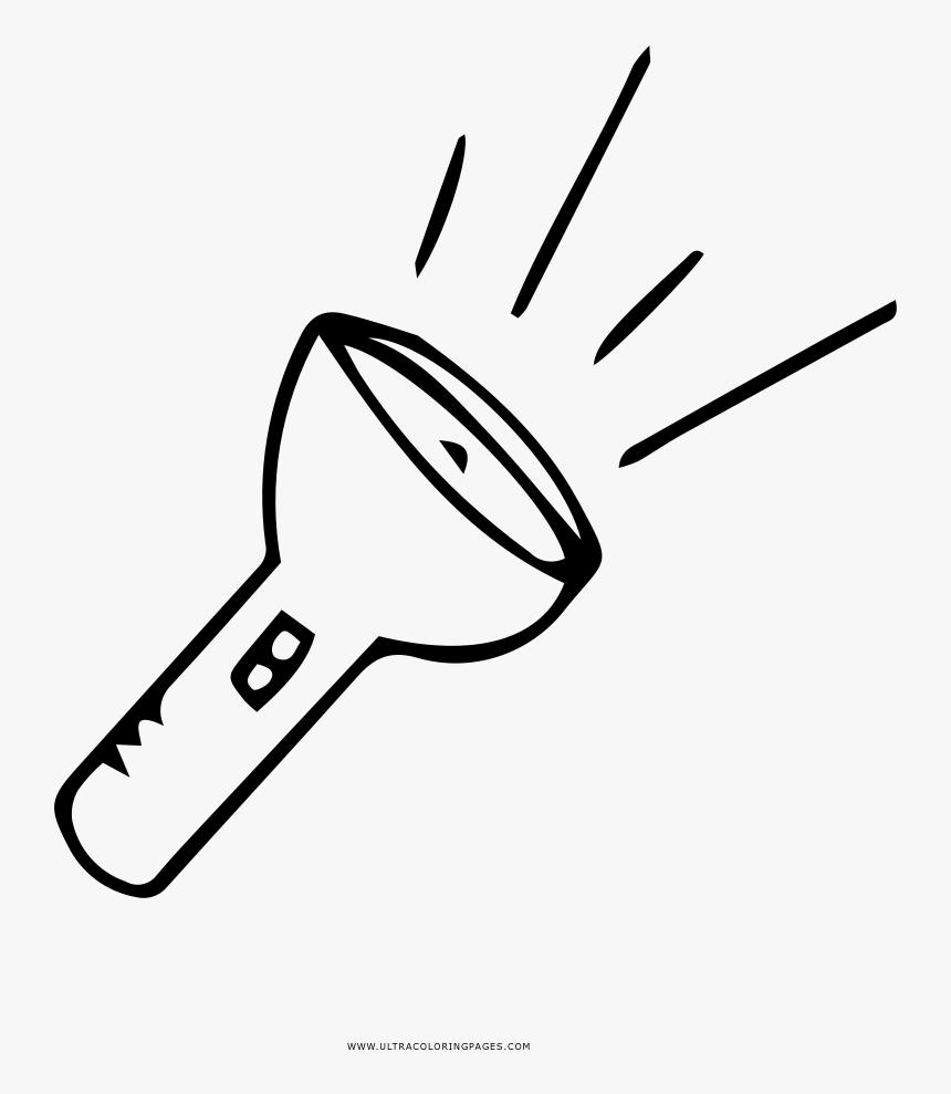Desenho De Lanterna Para Colorir, HD Png Download, Free Download