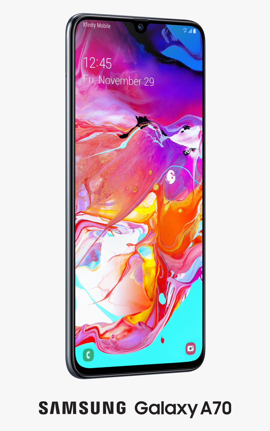 Samsung A70, HD Png Download, Free Download