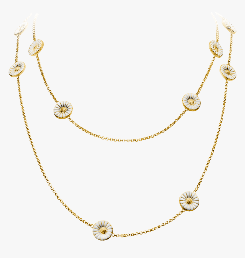 Georg Jensen Silver Daisy Necklace, HD Png Download, Free Download
