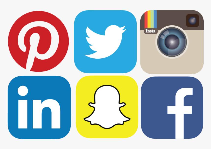 Social Media Icons Facebook Instagram Snapchat Youtube Hd Png Download Kindpng