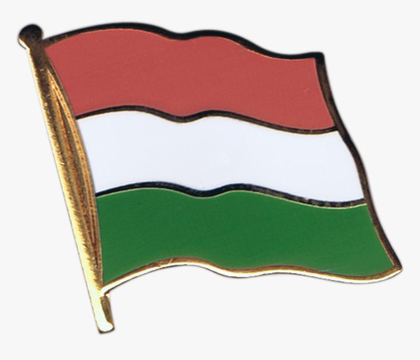 Hungary Flag Pin, Badge - Peru Flag Drawing, HD Png Download, Free Download